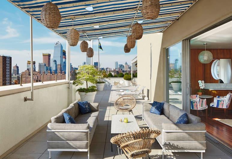 The Maritime Hotel, New York, Rooftop Penthouse, Terasz/udvar