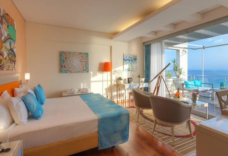 Tropical Hotel, Alimos, Quarto Júnior, Vista Mar, Quarto