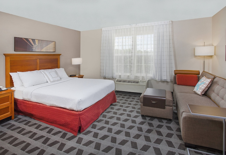 TownePlace Suites by Marriott Knoxville Cedar Bluff, Knoxville, Studio, 1 Queen Bed, Non Smoking, Room