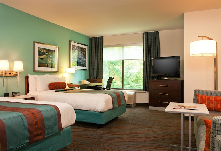 SpringHill Suites by Marriott Tarrytown Westchester County, Tarrytown, Studio, 2 lits doubles, non-fumeurs, Chambre