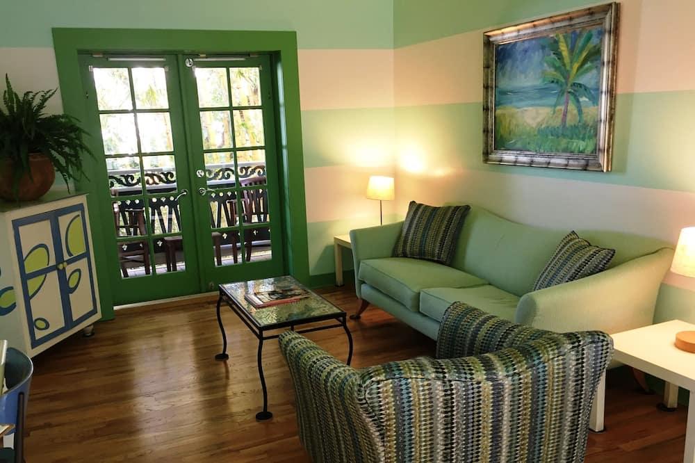 Suite, 1 Bedroom, Kitchen - Living Area