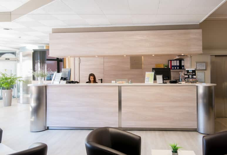 Best Quality Hotel Politecnico, Torino, Reception