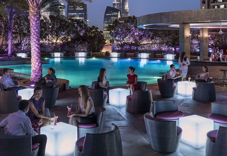 Shangri La Hotel Dubai, Dubai, Poolside Bar