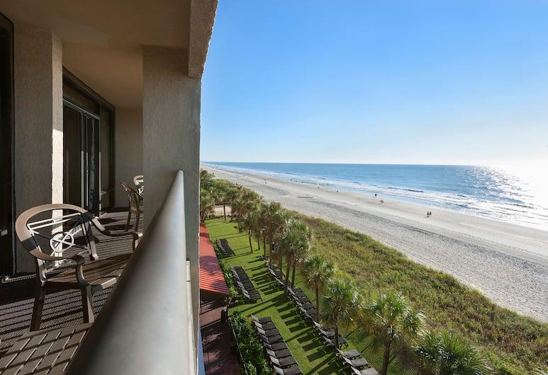 أوشن ريف ريزورت, ميرتل بيتش, غرفة عادية - سريران كبيران - على المحيط, منظر من غرفة الضيوف