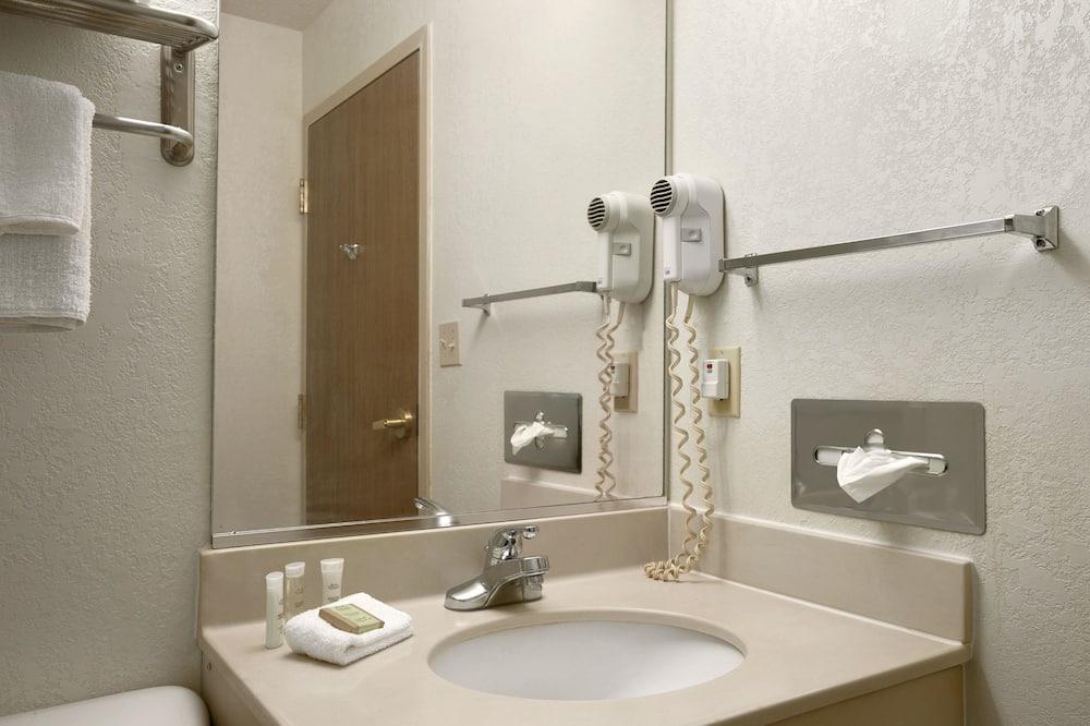 ルーム ダブルベッド 2 台 禁煙 - バスルーム