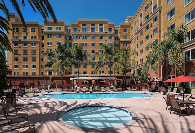 Residence Inn By Marriott Anaheim Resort Area, Garden Grove, Außen-Whirlpool