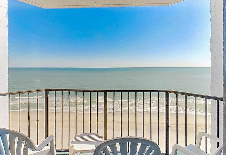 Ocean Park Resort by Vacasa, Myrtle Beach, Apartamento, 1 habitación, bañera de hidromasaje, vistas a la playa (One-Bedroom Apartment ), Balcón