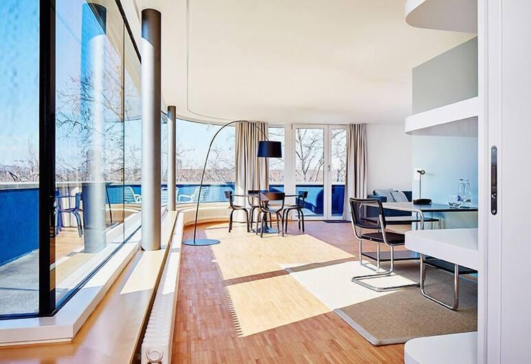 Greulich Design & Lifestyle Hotel, Zurych, Apartament, 2 sypialnie, Powierzchnia mieszkalna