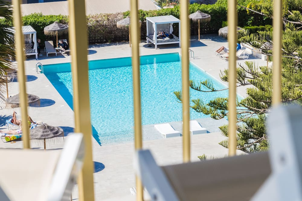 Standard Double Room, Balcony, Pool View - Guest Room View