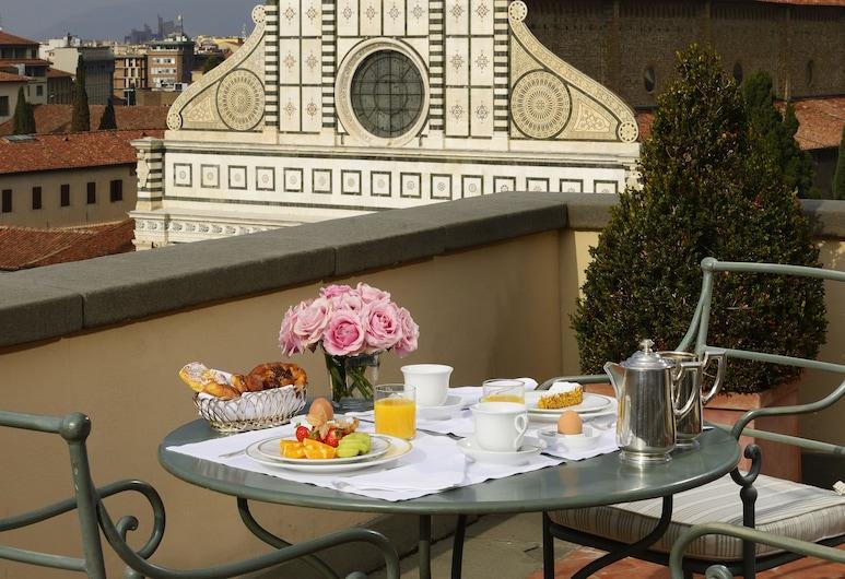 Hotel Santa Maria Novella, Florenz, Terrasse/Patio
