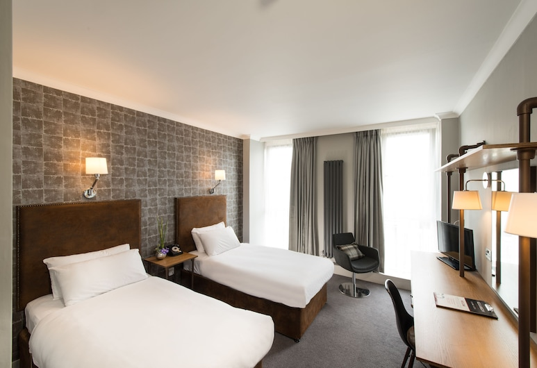 GoGlasgow Urban Hotel by Compass Hospitality, Glasgow, dvivietis kambarys su atskiromis lovomis, Svečių kambarys