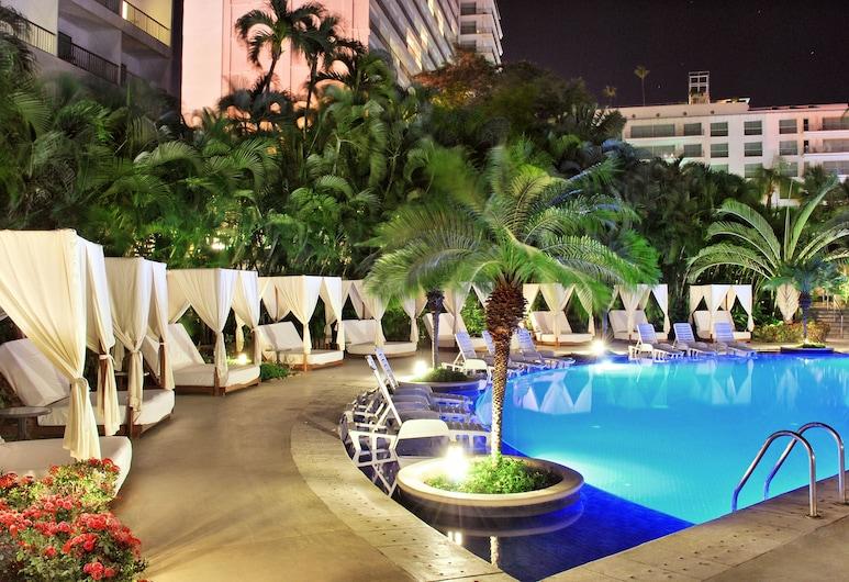 Hotel Emporio Acapulco, אקפולקו, בריכה חיצונית