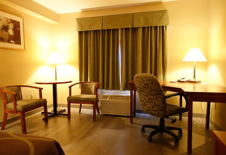 Super 8 by Wyndham Sault Ste Marie On, Sault Ste. Marie, חדר ביזנס, מיטת קינג, ללא עישון, חדר אורחים