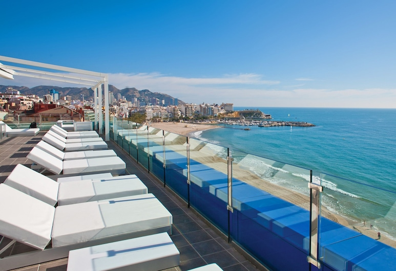 Villa del Mar Hotel, Benidorm, Terrace/Patio