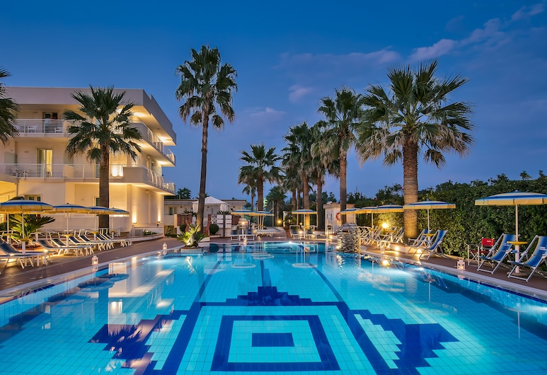 Hotel Olimpico, Pontecagnano Faiano, Terrace/Patio