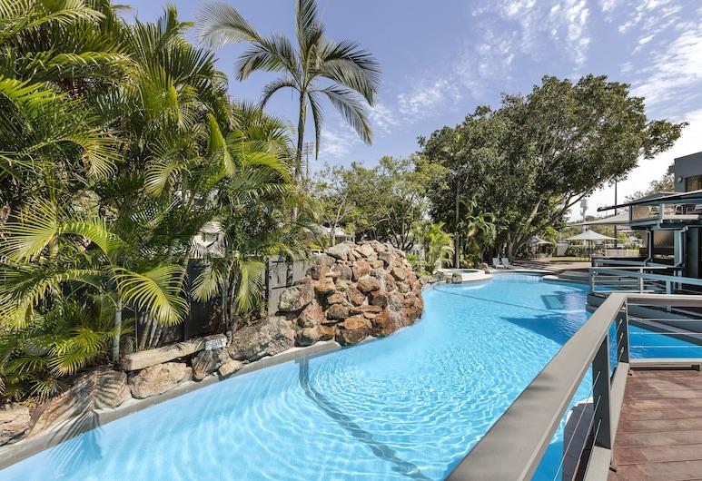 View Brisbane (Brisbane Riverview Hotel), Hamilton, Açık Yüzme Havuzu