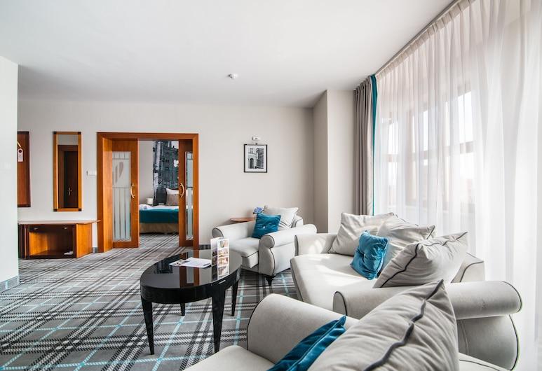 Hanza Hotel, Gdansk, Presidential Suite, 1 King Bed, Living Room