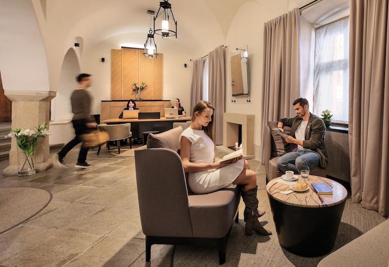Hotel OLDINN, Cesky Krumlov, Receção