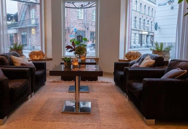Clarion Collection Hotel Grand, Sundsvall, Lounge i lobbyn