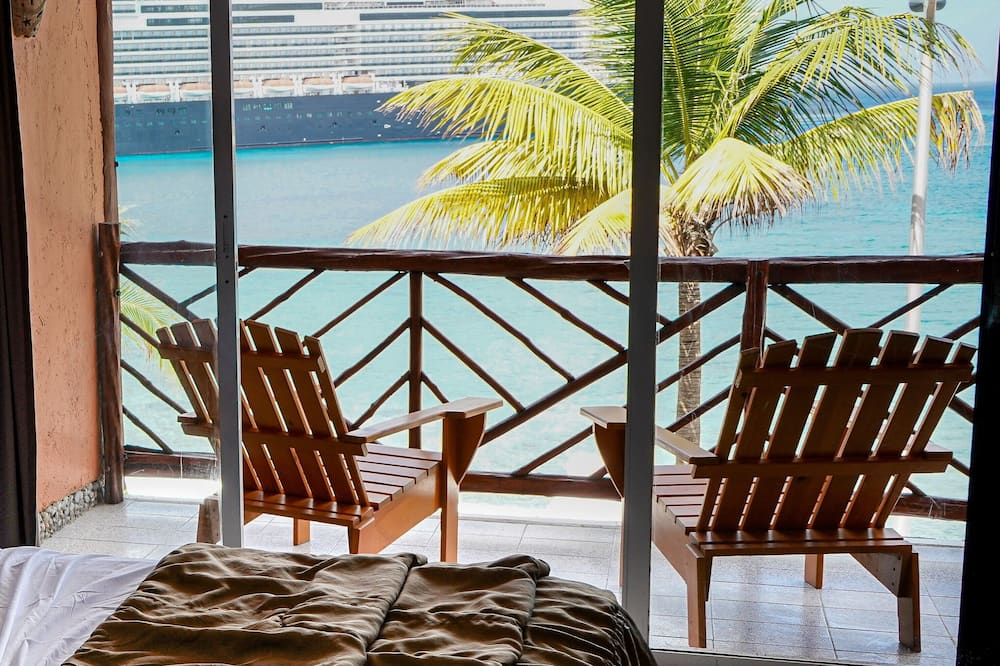 Štandardná izba, 1 extra veľké dvojlôžko, výhľad na oceán - Hosťovská izba