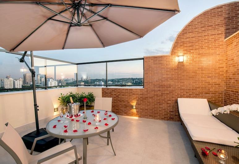 Quality Hotel Faria Lima, San Paulas, Verslo klasės kambarys, Terasa / vidinis kiemas
