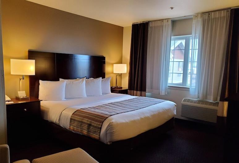 Country Inn & Suites by Radisson, Bend, OR, בנד, חדר, מיטת קינג, ללא עישון, חדר אורחים