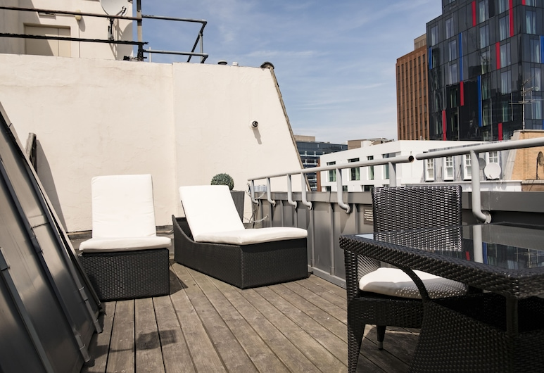 The Chamberlain Hotel, London, Roof Terrace , Balcony