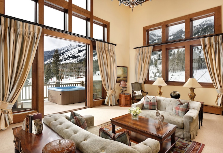 Four Seasons Resort Jackson Hole, Teton Village, Herbergi