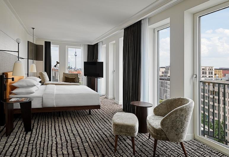 Berlin Marriott Hotel, Berlin, Rom – superior, 1 kingsize-seng, ikke-røyk, Gjesterom