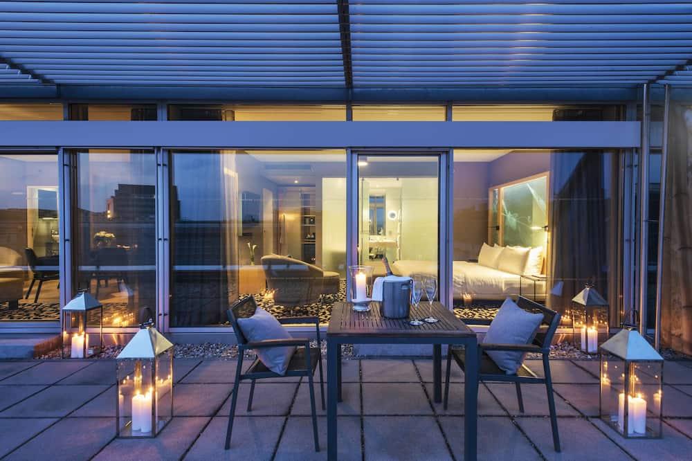 City-Suite, 1 Schlafzimmer, Nichtraucher, Terrasse - Zimmer