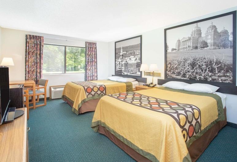 迪威特溫德姆速 8 飯店, 德威特, 客房, 2 張標準雙人床, 非吸煙房, 客房