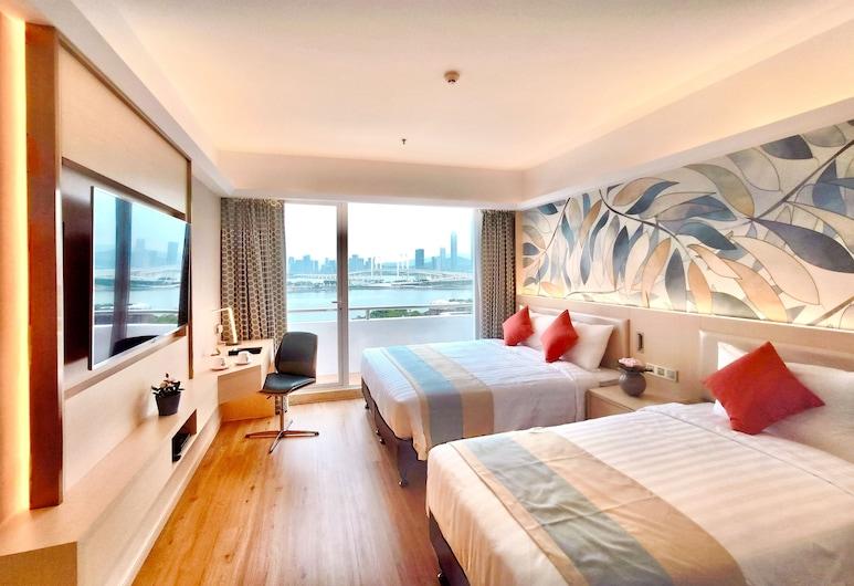 Riviera Hotel Macau, Macao, Habitación familiar con 2 camas individuales, Habitación