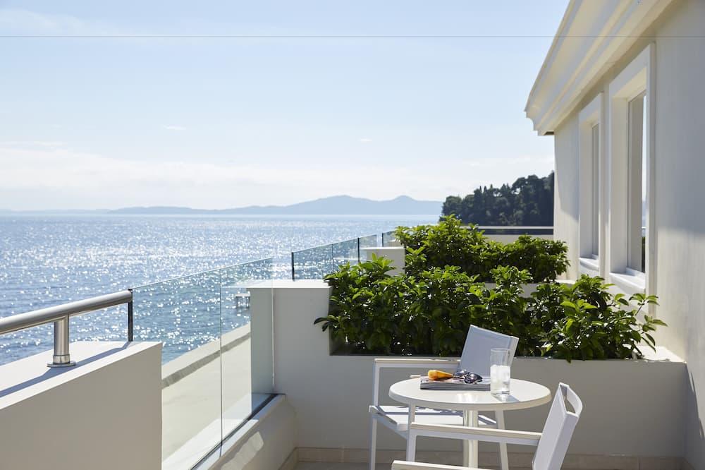 Apartament typu Executive Suite, widok na morze - Balkon