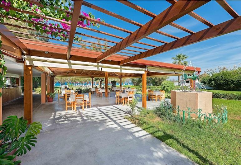 Bayside Hotel Katsaras, Rodosz, A szálláshely külső területe