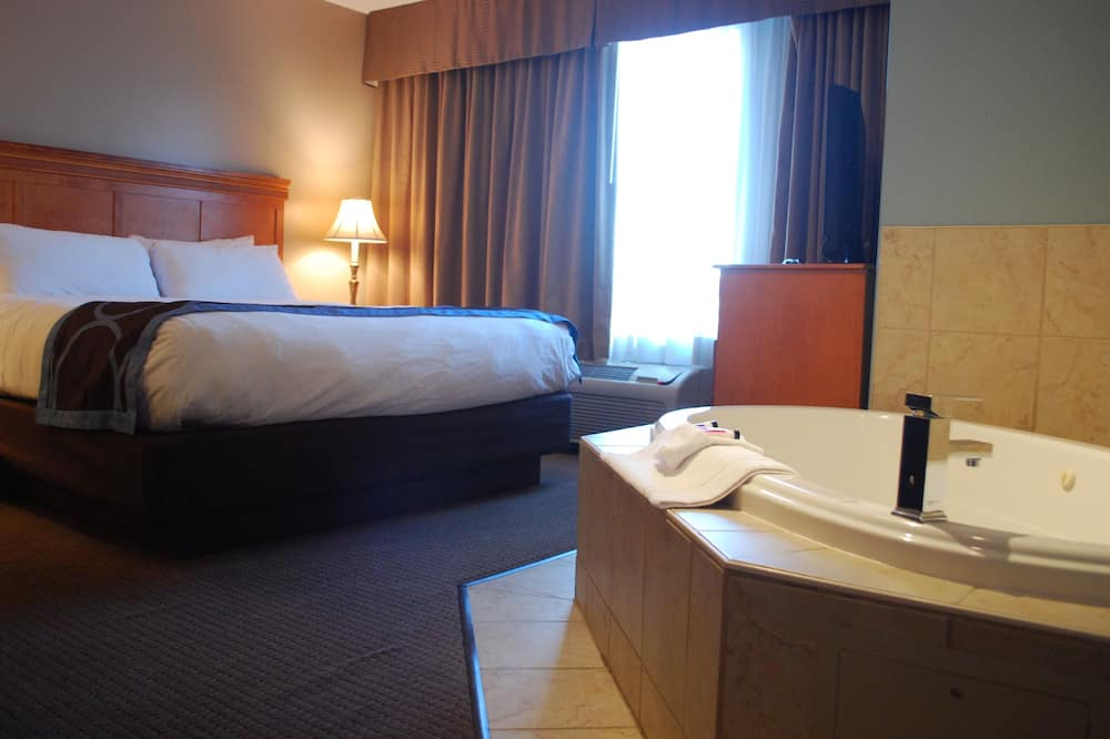 Suite, 1 King Bed, Non Smoking, Jetted Tub - Private spa tub