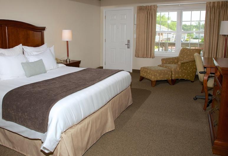 Holiday Hill Inn & Suites, Dennis Port, Deluxe soba, 1 king size krevet i kauč na rasklapanje, Soba za goste
