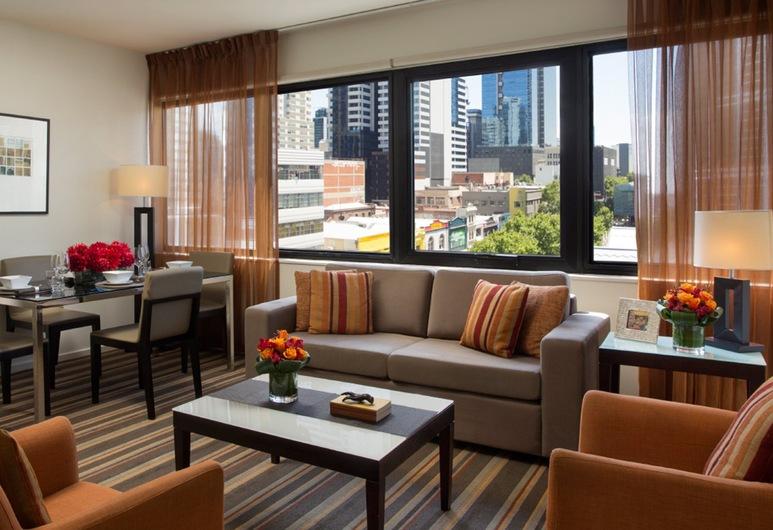 Somerset On Elizabeth, Melbourne, Melbourne, Apartamento luxo, Quarto