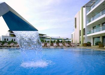 Mynd af Albatros Spa & Resort Hotel í Hersonissos