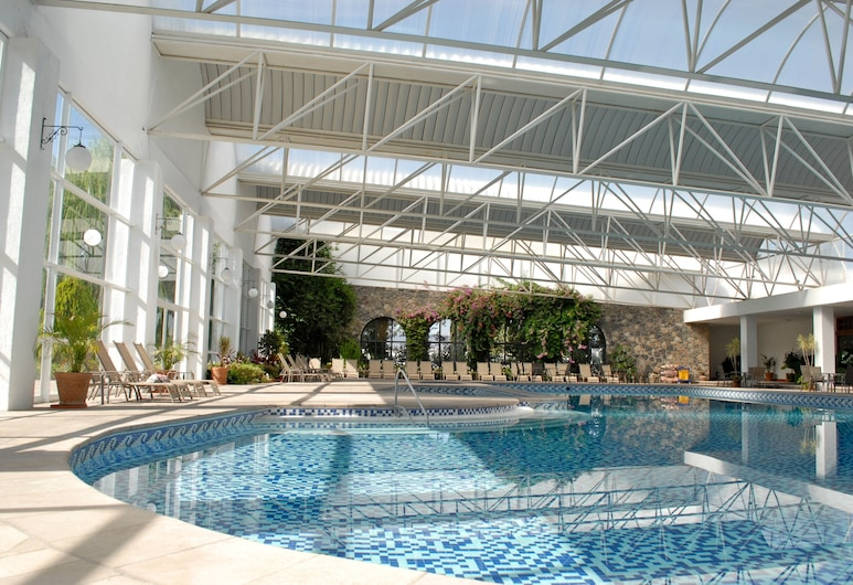 Hotel Hacienda Cantalagua Golf, Contepec, Alberca cubierta