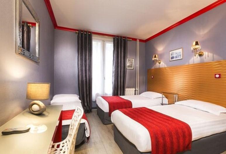 호텔 모뵈주 가르 뒤 노르, 파리, 트리플룸, 객실