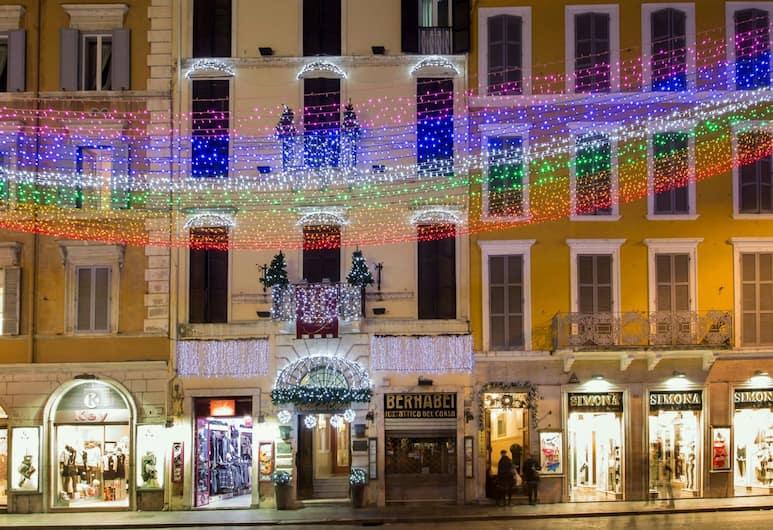 Hotel del Corso, Rome, Exterior