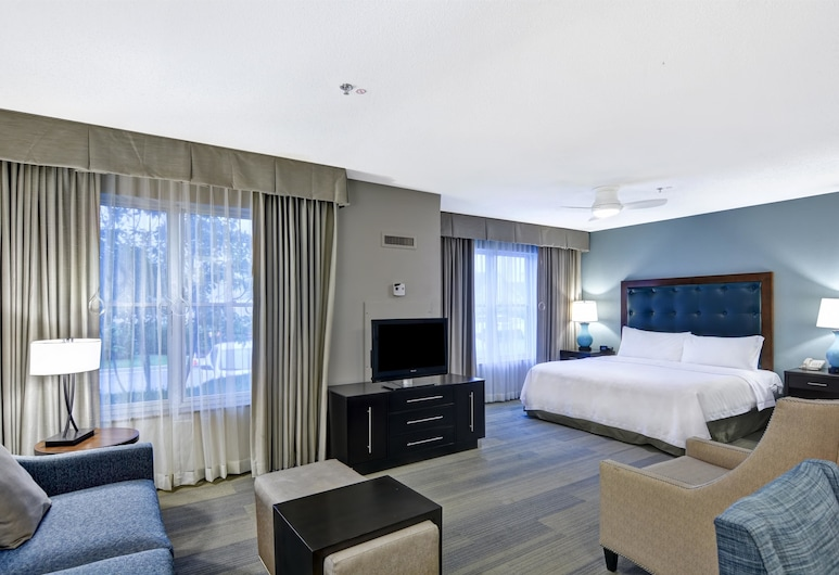 Homewood Suites by Hilton Lexington Fayette Mall, Lexington, Studio, 1 King Bed, Accessible, Non Smoking (Mobility & Hearing, Roll-in Shower), Guest Room