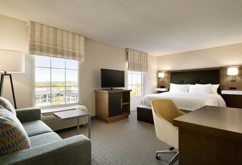 Hampton Inn & Suites Newport/Middletown, Middletown, Studio, 1 Doppelbett, barrierefrei, Nichtraucher (Roll-In Shower), Ausblick vom Zimmer