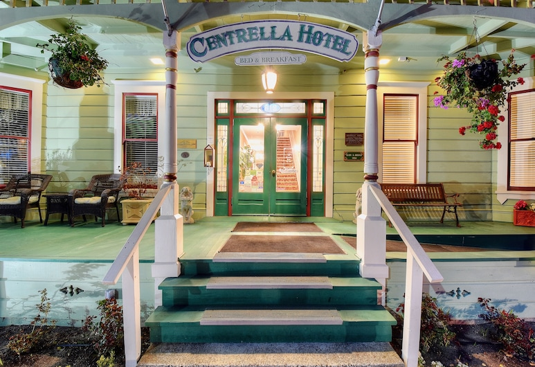 Centrella Inn, פסיפיק גרוב, הכניסה למלון