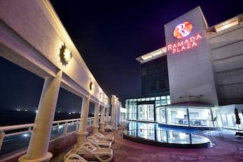Naktsmītnes Ramada Plaza Jeju Ocean Front attēls vietā Čedžu