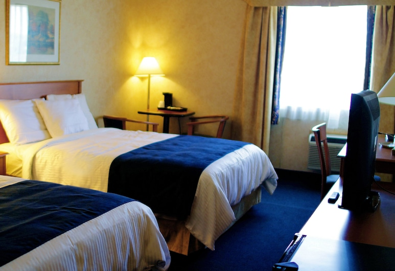 Glengate Hotel & Suites, Niagara Falls, Chambre Standard, 2 grands lits, Chambre