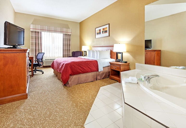 Country Inn & Suites by Radisson, Hinesville, GA, Hinesville, Suite, 1 Bedroom, Non Smoking, Guest Room