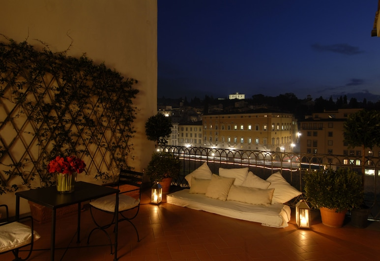 Hotel degli Orafi, Florence, Terrasse/Patio