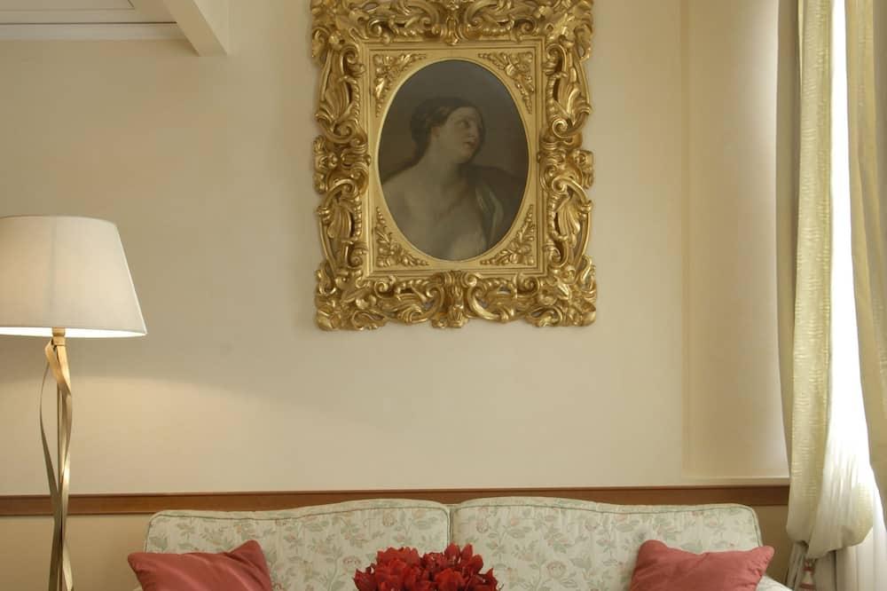 주니어 스위트 - 거실 공간