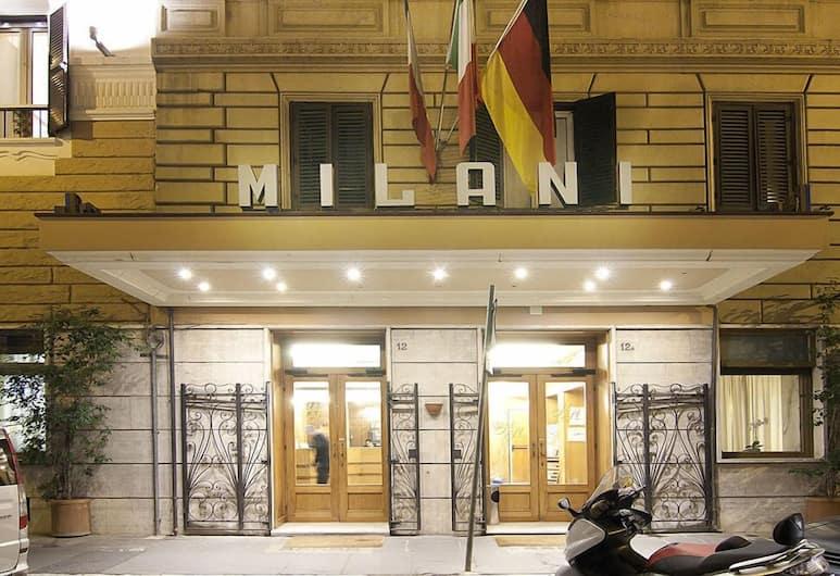 米拉尼飯店, 羅馬, 外觀